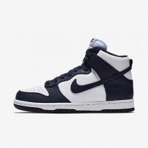 Nike Dunk Retro QS Navy Blue/White Womens Shoes