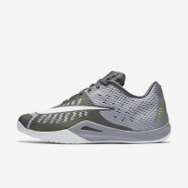 Nike HyperLive (Men's Sizing) Wolf Grey/Pure Platinum/Dark Grey/White unisex Basketball Shoes