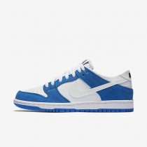 Nike SB Dunk Low Pro Ishod Wair Blue Spark/Black/White Mens Skateboarding Shoes
