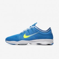 Nike Air Zoom Fit 2 Blue Glow/Bluecap/Blue Spark/Volt Womens Training Shoes
