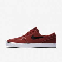 Nike SB Zoom Stefan Janoski Canvas Dark Cayenne/Gum Light Brown/White/Black Mens Skateboarding Shoes