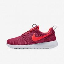 Nike Roshe One Deep Garnet/Pure Platinum/Bright Crimson Womens Shoes
