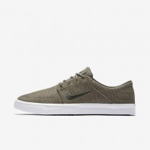 Nike SB Portmore Canvas Premium Dark Grey/White/Dark Grey Mens Skateboarding Shoes