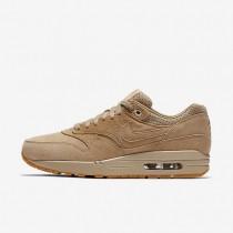 Nike Lab Air Max 1 Linen/Linen/Oatmeal/Gum Light Brown Womens Shoes