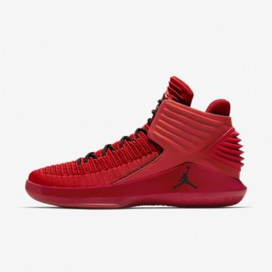 Air Jordan XXXII Chaussure de basketball pour Homme Rouge université/Noir Référence : AA1253-601