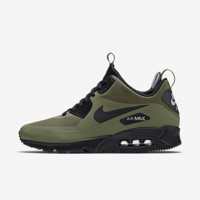 Nike Air Max 90 Mid Winter Dark Loden/Dark Grey/Black Mens Shoes