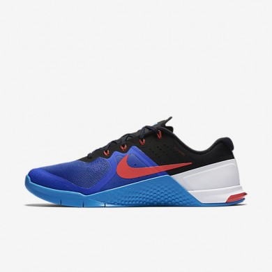 Nike Metcon 2 Racer Blue/Blue Glow/Black/Bright Crimson Mens Training Shoes