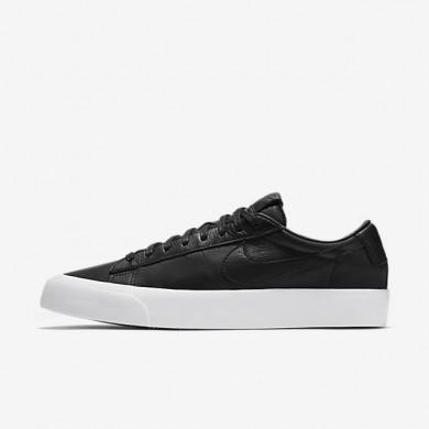 Nike Blazer Low QS Black/White/Black Mens Shoes