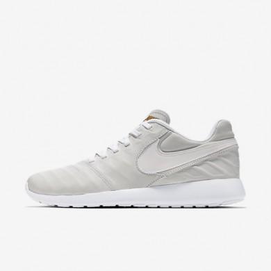 Nike Roshe Tiempo VI QS White/Metallic Gold/Black/White Mens Shoes
