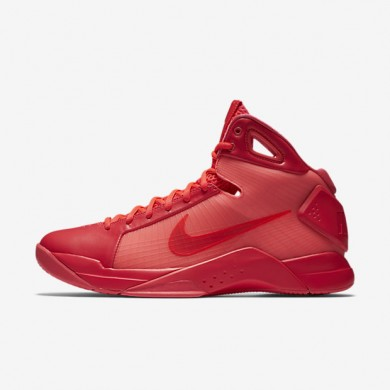 Nike Hyperdunk 08 Solar Red/Solar Red/Solar Red Mens Basketball Shoes