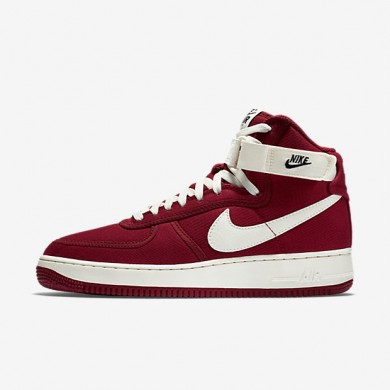 Nike Air Force 1 High Gym Red/Black/Sail Mens Shoes
