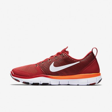 Nike Free TR Versatility Amp Gym Red/Total Crimson/Pine Green/White Mens Training Shoes