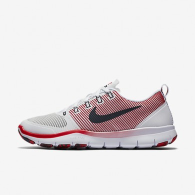 Nike Free TR Versatility Amp White/University Red/Dark Obsidian Mens Training Shoes