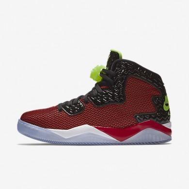 Nike Air Jordan Spike Forty University Red/Black/White/Ghost Green Mens Shoes