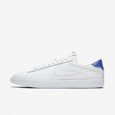 Nike Lab Air Zoom Tennis Classic x fragment White/White/Game Royal/White Mens Shoes