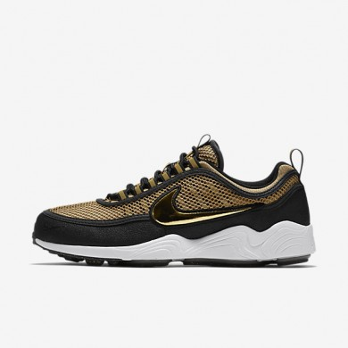 Nike Lab Air Zoom Spiridon Metallic Gold/Metallic Gold/Black/Metallic Gold Mens Shoes