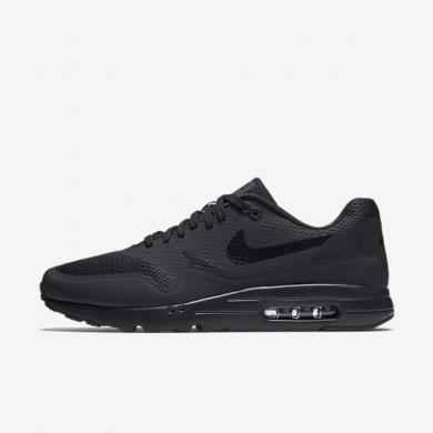 Nike Air Max 1 Ultra Essential Black/Black/Black Mens Shoes