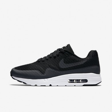 Nike Air Max 1 Ultra Essential Black/White/Anthracite Mens Shoes
