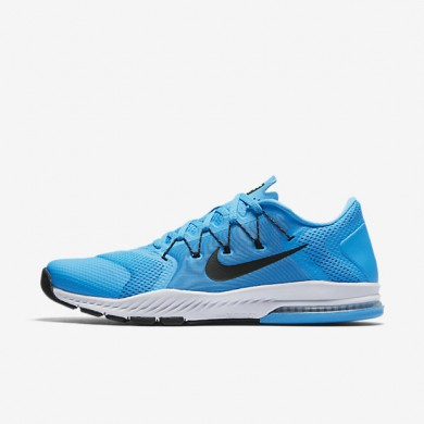 Nike Zoom Train Complete Blue Glow/White/Black Mens Training Shoes