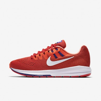Nike Air Zoom Structure 20 University Red/Total Crimson/Concord/White Mens Running Shoes