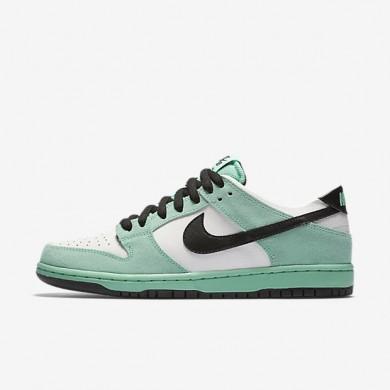 Nike SB Dunk Low Pro Ishod Wair Green Glow/Summit White/Black Mens Skateboarding Shoes