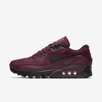 Nike Air Max 90 Ultra SE Night Maroon/Night Maroon/Bright Crimson/Black Mens Shoes