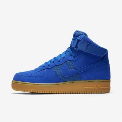 Nike Air Force 1 07 High LV8 Hyper Cobalt/Gum Light Brown/Hyper Cobalt Mens Shoes