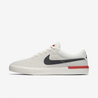 Nike SB Koston Hypervulc Ivory/Ember Glow/Black Mens Skateboarding Shoes