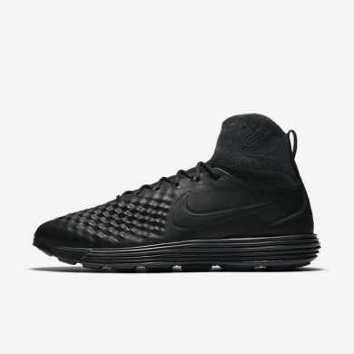 Nike Lunar Magista II Flyknit Black/Anthracite/White/Black Mens Shoes