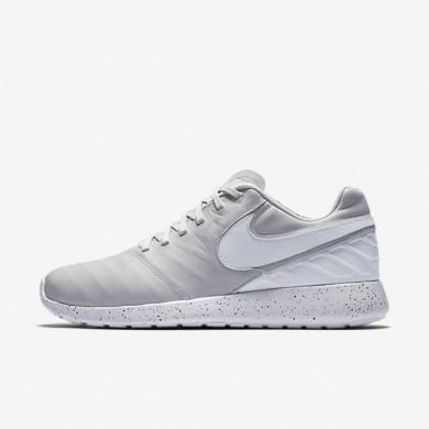Nike Roshe Tiempo VI Pure Platinum/Black/Pure Platinum Mens Shoes