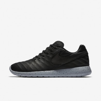 Nike Roshe Tiempo VI Black/Wolf Grey/Metallic Gold/Black Mens Shoes