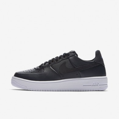 Nike Air Force 1 UltraForce Leather Dark Obsidian/White/Dark Obsidian Mens Shoes