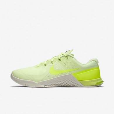 Nike Metcon 2 Barely Volt/Light Bone/Black/Volt Mens Training Shoes
