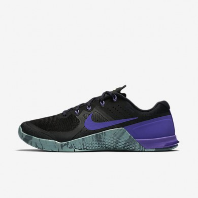 Nike Metcon 2 Black/Hasta/Cannon/Fierce Purple Mens Training Shoes