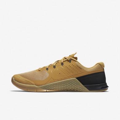 Nike Metcon 2 Haystack/Gum Yellow/Black/Haystack Mens Training Shoes