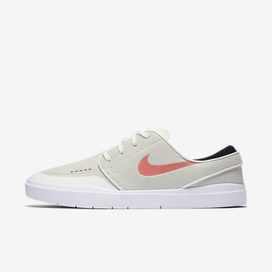 Nike SB Stefan Janoski Hyperfeel XT Summit White/Black/White/Ember Glow Mens Skateboarding Shoes