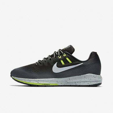 Nike Air Zoom Structure 20 Shield Black/Dark Grey/Wolf Grey/Metallic Silver Mens Running Shoes