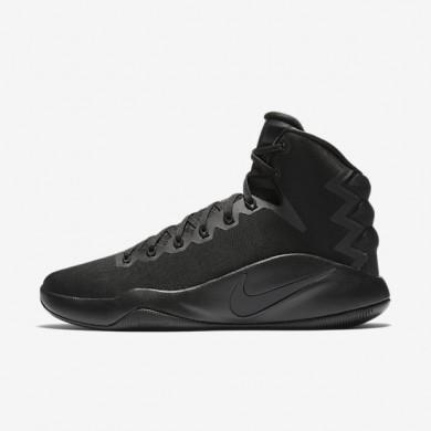 Nike Hyperdunk 2016 Black/Volt/Anthracite Mens Basketball Shoes
