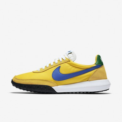 Nike Roshe Waffle Racer NM Tour Yellow/Lucky Green/White/Hyper Cobalt Mens Shoes