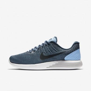 Nike LunarGlide 8 Light Blue/Squadron Blue/Ghost Green/Black Mens Running Shoes