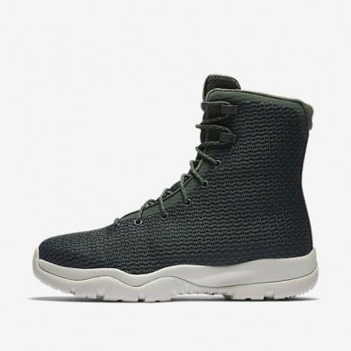 Jordan Future Grove Green/Light Bone/Grove Green Mens boot Shoes