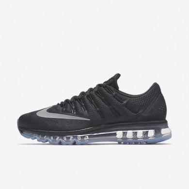 Nike Air Max 2016 Black/Dark Grey/White Mens Running Shoes