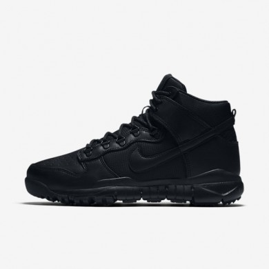 new product 00634 58277 Nike SB Dunk High BlackBlack Mens boot Shoes