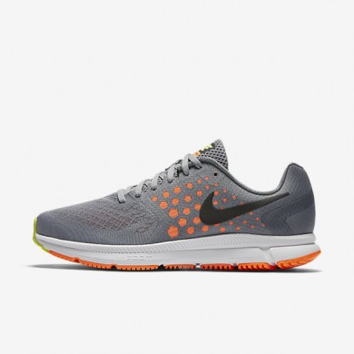 Nike Air Zoom Span Cool Grey/Total Orange/Stealth/Black Mens Running Shoes