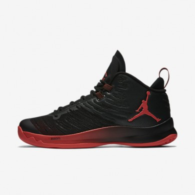 Jordan Super.Fly 5 Black/Infrared 23/Infrared 23 Mens Basketball Shoes