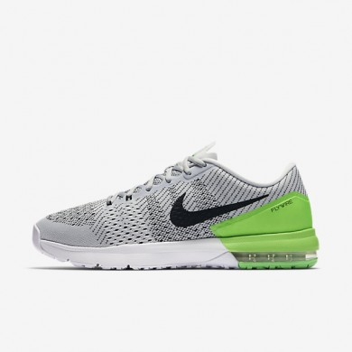Nike Air Max Typha Pure Platinum/Rage Green/White/Black Mens Training Shoes