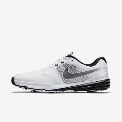 Nike Lunar Command White/Black/Metallic Cool Grey Mens Golf Shoes