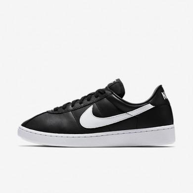 Nike Bruin Leather Black/Black/White/White Mens Shoes