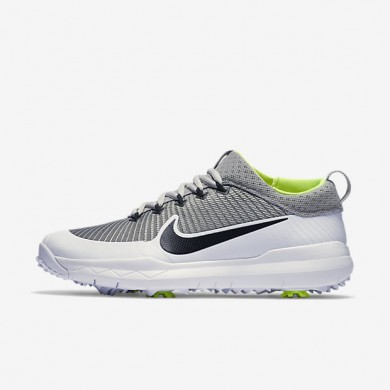 039420a79428 Cheap Nike FI Premiere Metallic Silver White Volt Black Mens Golf ...