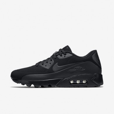 Nike Air Max 90 Ultra Moire Black/White/Black Mens Shoes